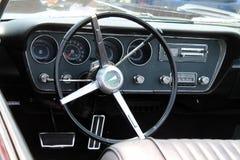 Klassischer Pontiac-gto Innenraum Stockfotos