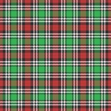 Klassischer Schottenstoff, Picknicktischdecke, Gingham, Büffel, Lamberjack, nahtlose Muster des Plaids der frohen Weihnachten Kon lizenzfreie abbildung