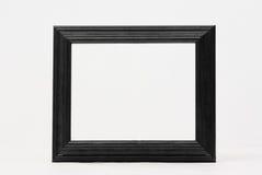 Klassischer schwarzer Bilderrahmen stockbild