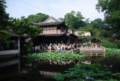 Klassischer Suzhou-Garten Lizenzfreie Stockfotografie