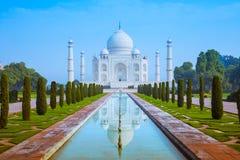 Klassischer Taj Mahal lizenzfreies stockbild