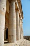 Klassischer Tempel in Griechenland Stockfotografie