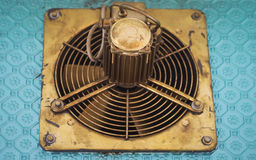 Klassischer Ventilator Stockfoto