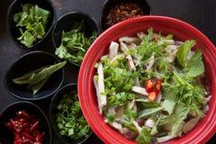 Klassischer Vietnamese Pho Stockbild