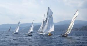 Klassischer Yacht Regatta Lizenzfreie Stockfotos