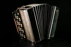 Klassisches Akkordeon lizenzfreie stockfotos