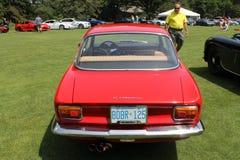 Klassisches Alfa Romeo-Sportauto Lizenzfreie Stockfotografie