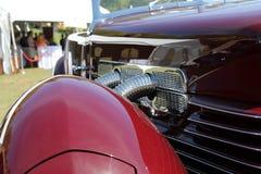 Klassisches amerikanisches Auto des Details Stockfotos