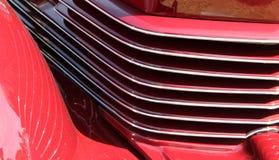 Klassisches amerikanisches Auto des Details Stockbild