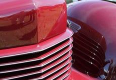 Klassisches amerikanisches Auto des Details Stockfotografie