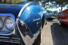 Klassisches amerikanisches Autoeckenluxusdetail Stockbild