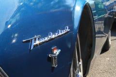 Klassisches amerikanisches Autoeckenluxusdetail Stockbilder