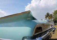 Klassisches amerikanisches Autoluxusdetail Stockbild