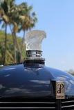 Klassisches amerikanisches Autonahaufnahmedetail Stockfotos
