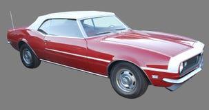 Klassisches amerikanisches rotes Auto Stockfotografie