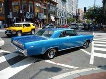 Klassisches Auto in im Stadtzentrum gelegenem Washington Gleichstrom Stockfoto