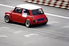 Klassisches Auto-Rennen Stockfoto