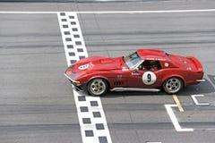 Klassisches Auto-Rennen lizenzfreie stockbilder