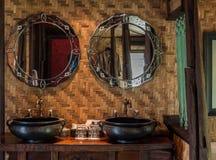 Klassisches Badezimmer Stockbild