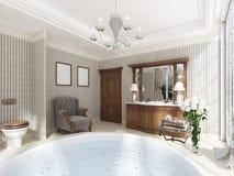 antike möbel badezimmer vektor abbildung - bild: 71996038, Hause ideen
