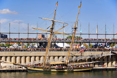 Klassisches Boots-Festival Montreals Lizenzfreie Stockfotos