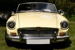 Klassisches britisches Auto auf dem britischen Motor traf sich in Karlsborg-Festung Stockfotos