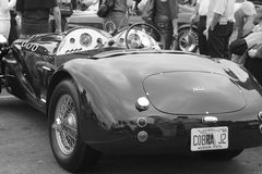 Klassisches britisches Auto am Ereignis Lizenzfreies Stockfoto