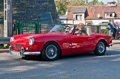 Klassisches britisches Auto Triumph Lizenzfreie Stockbilder