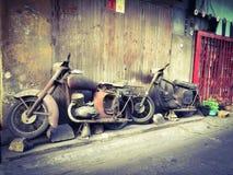Klassisches Fahrrad Stockbilder