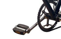 Klassisches Fahrradpedal Stockbild