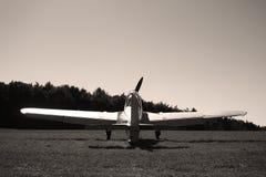 Klassisches Flugzeug von WWII Stockbild
