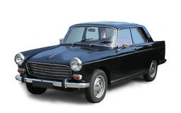 Klassisches französisches Auto Lizenzfreies Stockfoto