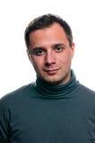 Klassisches getrenntes Portrait des Mannes lizenzfreies stockfoto