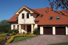 Klassisches Haus Lizenzfreie Stockbilder