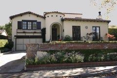 Klassisches Haus auf der Halbinsel des Kalifornien-Südens von San Francisco. Lizenzfreies Stockbild