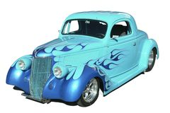 Klassisches heißer Rod-Automobil Stockfotografie