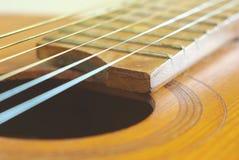 Klassisches Instrument der Gitarrenschnur Stockbild