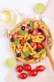 Klassisches italienisches Lebensmittel - Teigwaren Lizenzfreie Stockfotos