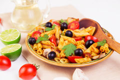 Klassisches italienisches Lebensmittel - Teigwaren Stockbilder
