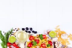 Klassisches italienisches Lebensmittel - Teigwaren Stockfoto