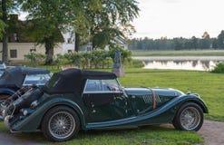 Klassisches Morgan-Auto stockfotos