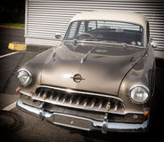 klassisches Motor- Archivbild Lizenzfreie Stockfotografie