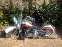 Klassisches Motorrad Stockbild