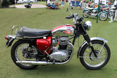 Klassisches Motorrad Briten Vincent Lizenzfreie Stockfotos