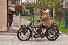 Klassisches Motorrad BSA K 550 cm 1916 Stockfotografie