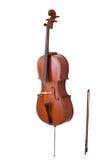 Klassisches Musikinstrumentcello Lizenzfreie Stockbilder