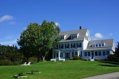 Klassisches Neu-England Haus Lizenzfreies Stockbild
