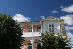 Klassisches Ostdeutsches Haus.   Lizenzfreies Stockfoto