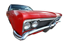 Klassisches Retro- amerikanisches Auto 50s Lizenzfreies Stockbild