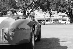 Klassisches rotes amerikanisches Sportauto Stockfoto